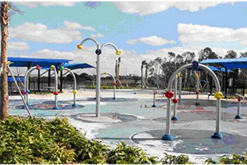 Dr. P. Phillips Community Park Splash Pad