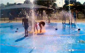 Splash Pad in Huntsville, AL
