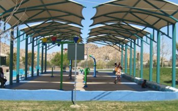 Lake Los Angeles, California - Sorenson Park Splash Pad