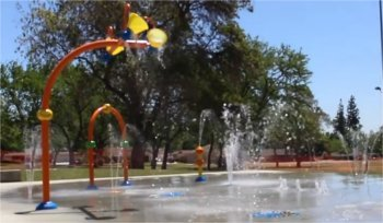 Spray Park in Chatsworth, CA