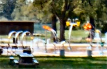 Splash Pad in Algonquin Park, Louisville, KY