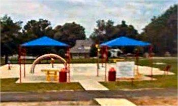 Spray Park in Stigler, Oklahoma.