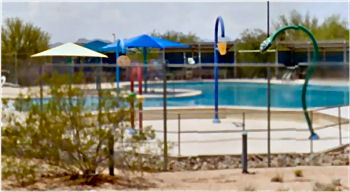 Splash Pad in Tucson, AZ's Picture Rocks Park