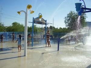 Brandi Fenton Park Spray Park in Tucson, AZ