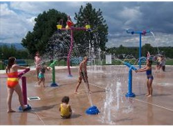 Deerfield Hills Spray Ground in Colorado Springs, Colorado