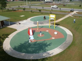 Spray Park In Robertsdale Alabama