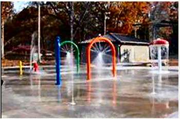 Splash Pad in Muscle Shoals, AL