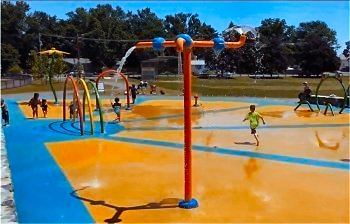 Splash Pad in Haverhill, Massachusetts