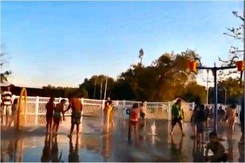 Splash pad in Rogers Arkansas