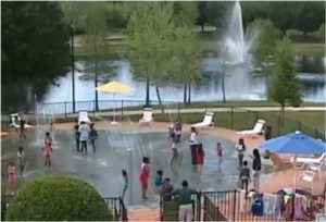 Orlando, Florida spray park